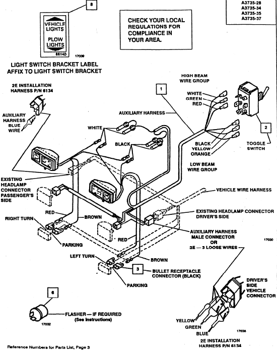 Arctic Snow Plow Wiring Diagram with regard to Arctic Snow Plow Wiring Diagram