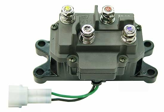 Atv Winch Contactor. Atv. Get Free Image About Wiring Diagram inside Kfi Winch Contactor Wiring Diagram