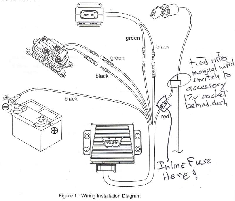 badland winch wiring diagram