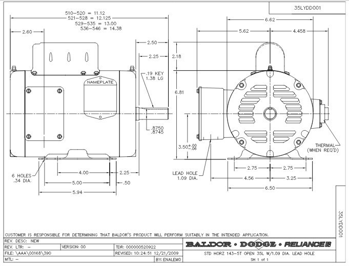 Wiring A Baldor Electric Motor Diagram : Baldor motors wiring diagram fuse box and