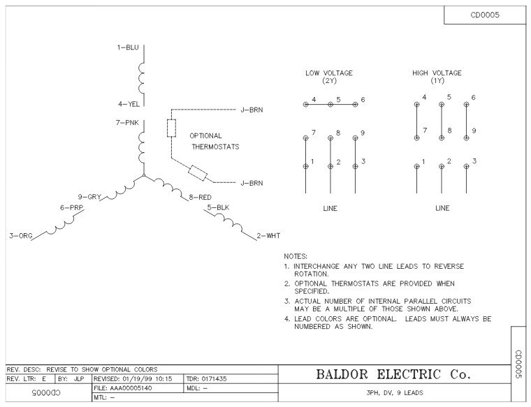 Baldor Motors Wiring Diagram in Baldor Motors Wiring Diagram