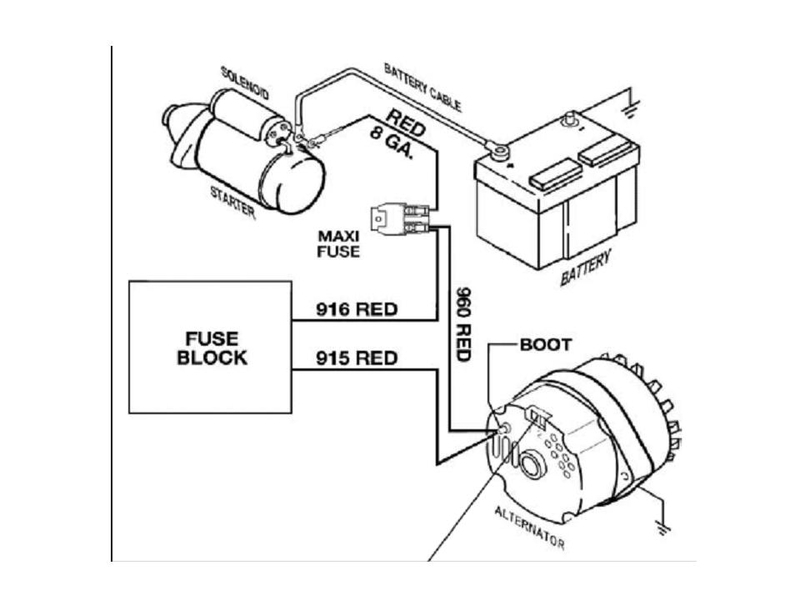 Basic Gm Alternator Wiring Catalog Wiring Diagram For Gm One Wire ...