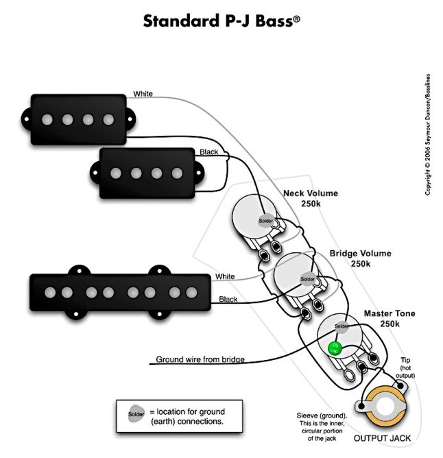 Fender jazz wiring diagram fuse box and