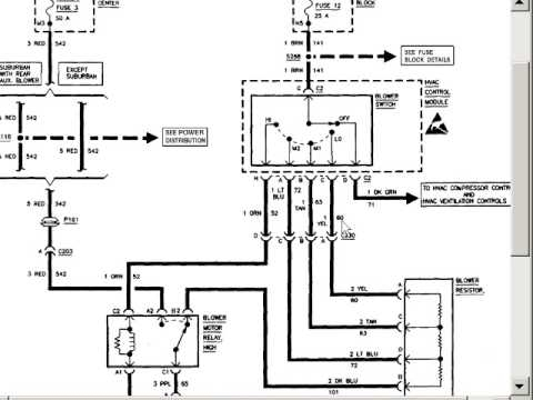 Blower Motor Wiring Diagram on leviton phone jack wiring diagram