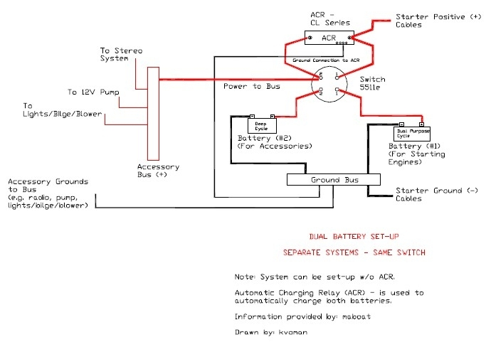 Blue Sea Add A Batter -7650 - The Hull Truth - Boating And Fishing inside Blue Sea Add A Battery Wiring Diagram