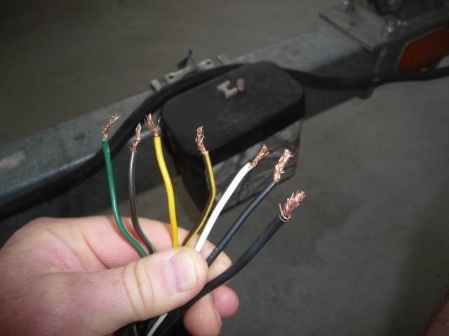 Boat Trailer Wiring: 7-Pin (I Have No Clue!!!) - Www.ifish for How To Wire A Boat Trailer Diagram