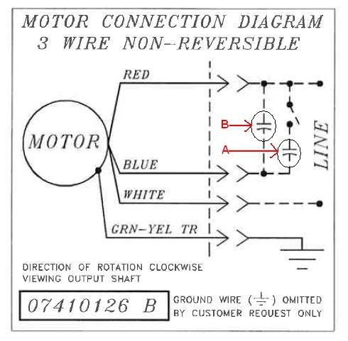 Bodine Electric Motor Wiring - Doityourself Community Forums for Electric Motor Wiring Diagram