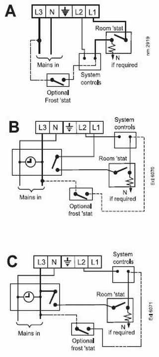Boiler Wiring Diagram for Frost Stat Wiring Diagram