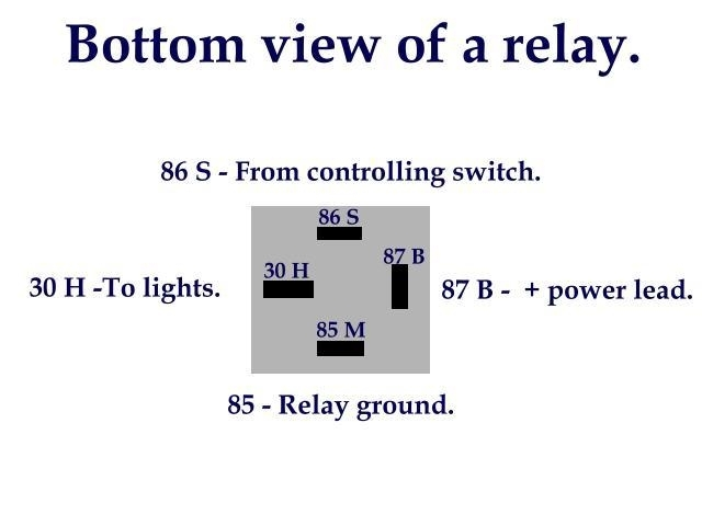 Bosch 30 Amp Relay Wiring Diagram for 12V 30 Amp Relay Wiring Diagram