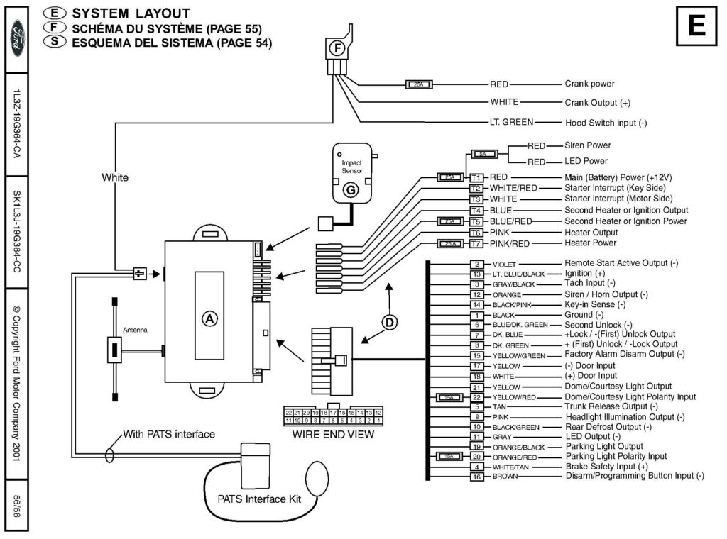 Bulldog Security Wiring Diagrams On Fordgoldstarter - Wiring with Bulldog Security Wiring Diagram