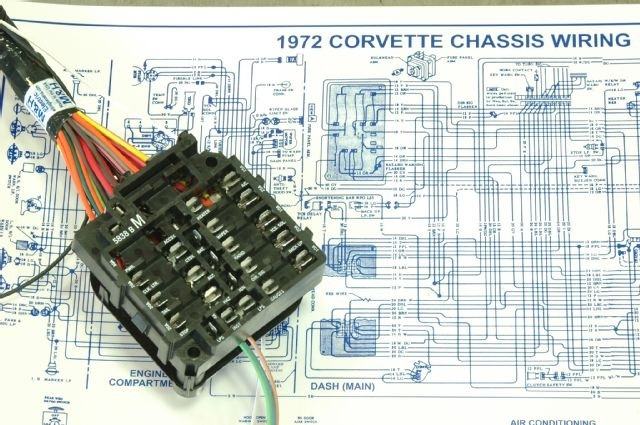 1974 corvette radio wiring diagram