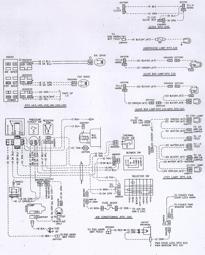 Camaro Air Conditioning System Information And Restoration Within Camaro Wiring Diagram
