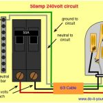 Camper Electrical Hookup 50 Amp Rv Plug Wiring Diagram Electrical throughout 50 Amp Rv Wiring Diagram
