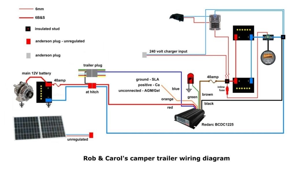 Camper Trailer 12 Volt Wiring Diagram And Redarcbcdcinstall5A pertaining to Camper Trailer Wiring Diagram