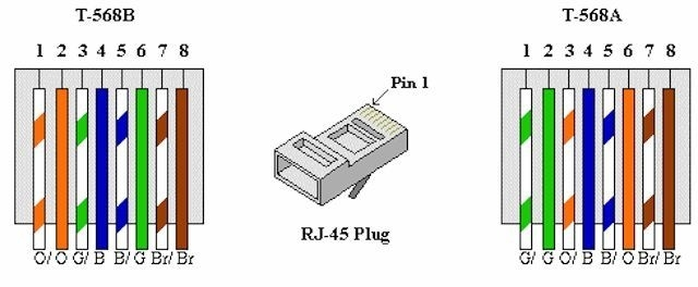 Cat6 Ethernet Wiring Diagram pertaining to Cat6 Wiring Diagram
