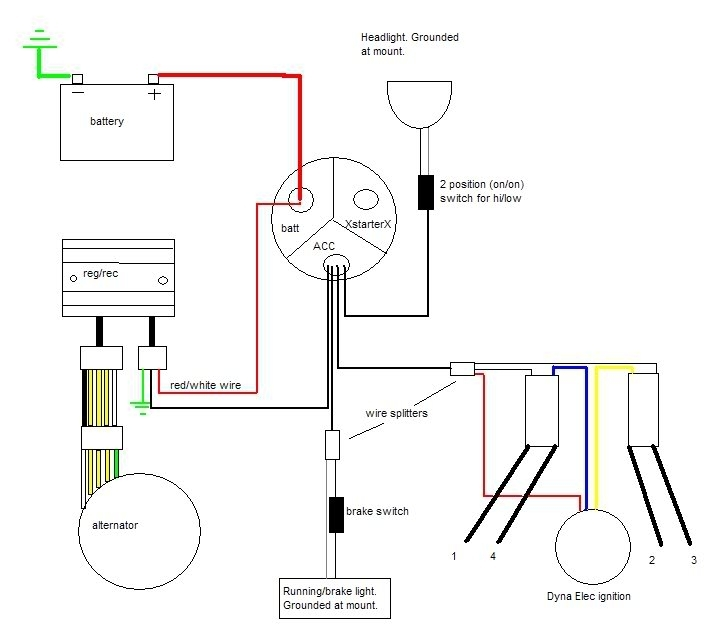 Cb750 Chopper Wiring. Wiring Diagram Images Database. Amornsak.co regarding Cb750 Wiring Diagram