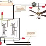 Ceiling Fan Wiring Diagram 2 Switches intended for How To Wire A Ceiling Fan With Two Switches Diagrams