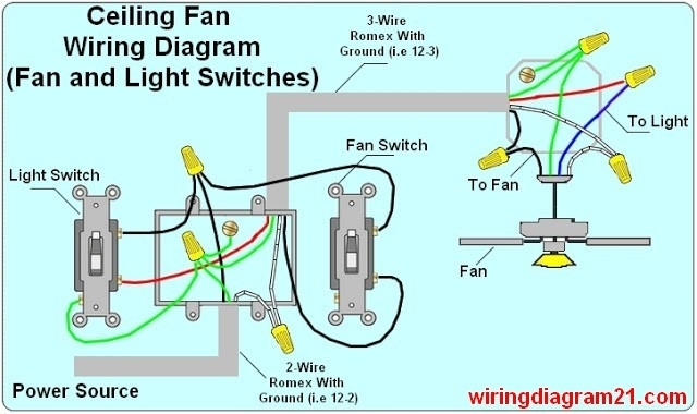 2 wire light switch diagram