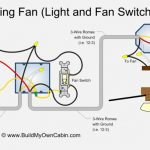 Ceiling Fan Wiring Diagram (Two Switches) intended for Ceiling Fan Switch Wiring Diagram