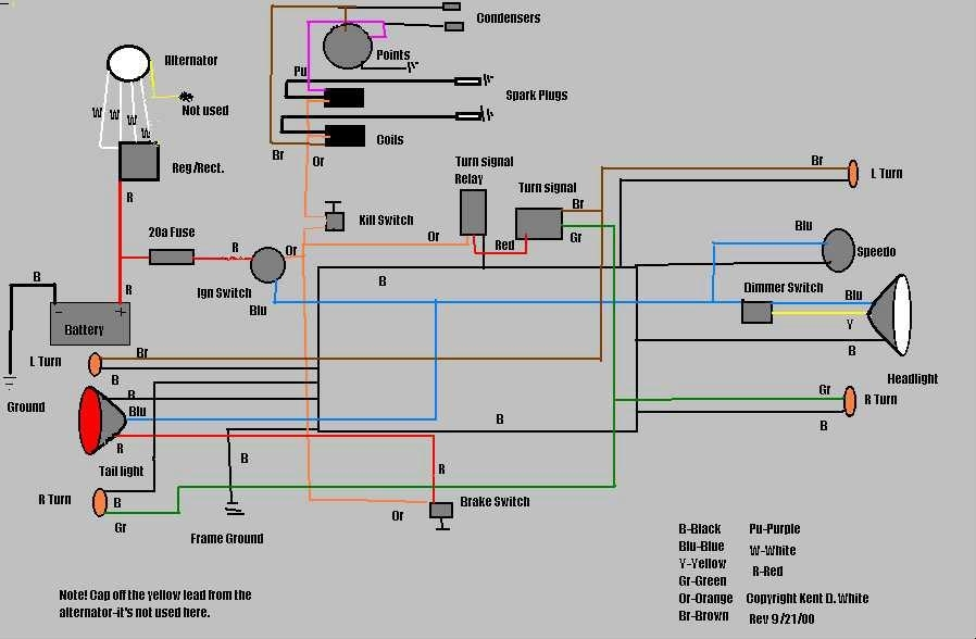 Chopcult - Let's See Some: Chopped Wiring Diagrams! pertaining to Chopper Wiring Diagram