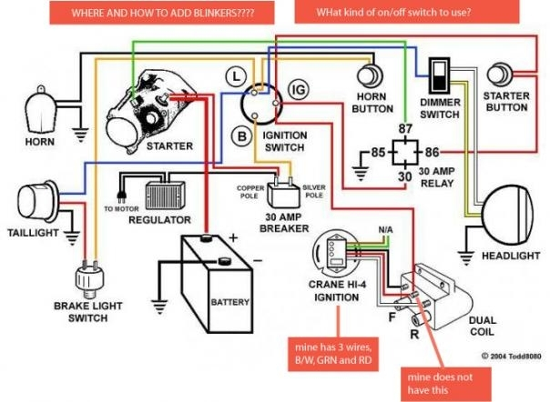 Chopper Wiring Diagram. Wiring Diagram Images Database. Amornsak.co with regard to Chopper Wiring Diagram