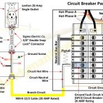 Circuit Breaker Panel Wiring Diagram With Ground Fault And inside Breaker Box Wiring Diagram