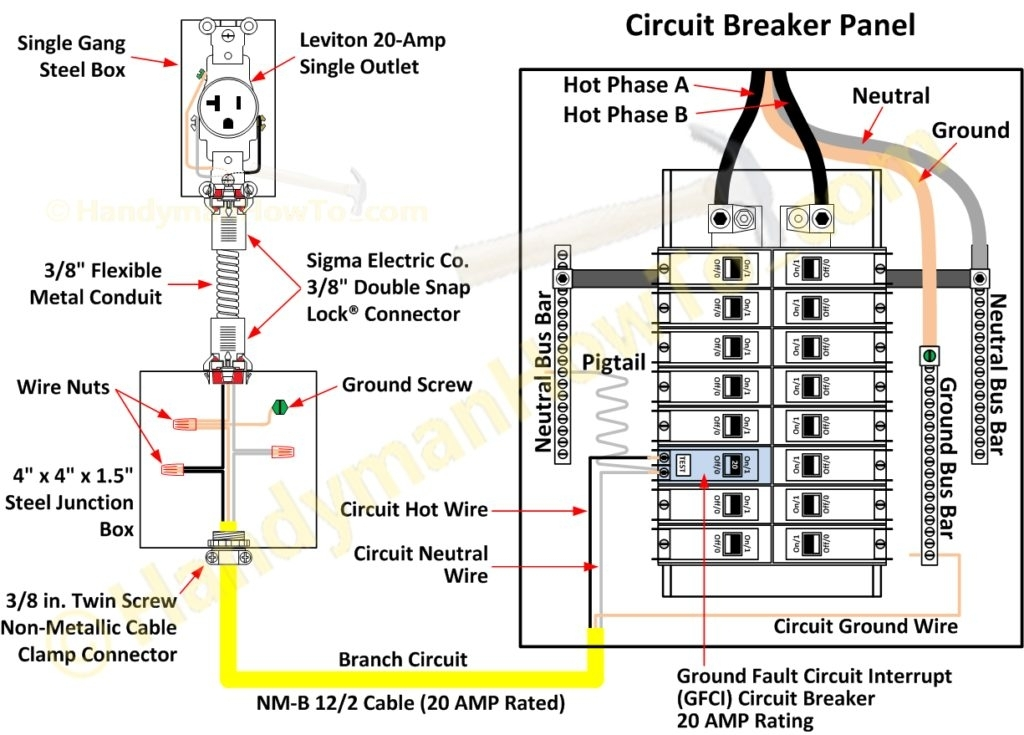 Breaker Box Wiring Diagram Fuse Box And Wiring Diagram