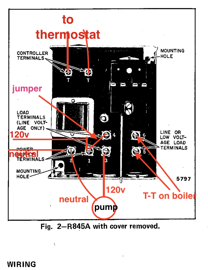 circulator pump relay wiring honeywell r845a heating help the throughout honeywell r845a wiring diagram honeywell circulator relay wiring diagram circuit and schematics honeywell r845a wiring diagram at mifinder.co
