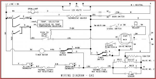 Clothes Dryer Motor Wiring Diagram - Facbooik for Dryer Wiring Diagram