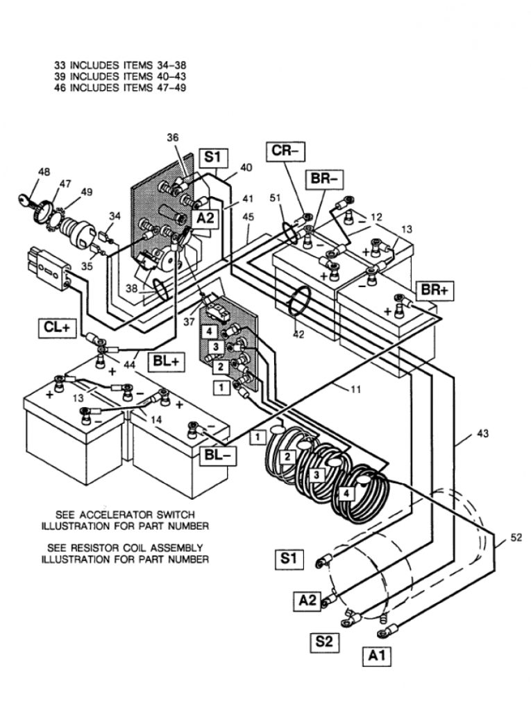 Ez go charger wiring diagram fuse box and