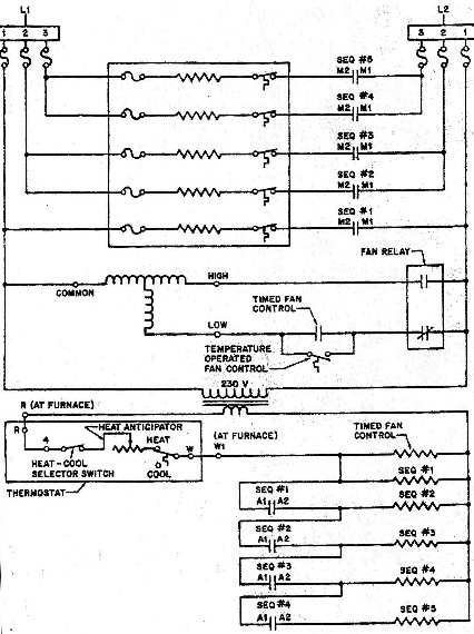 Coleman Mobile Home Electric Furnace Wiring Diagram Electric pertaining to Electric Furnace Wiring Diagram