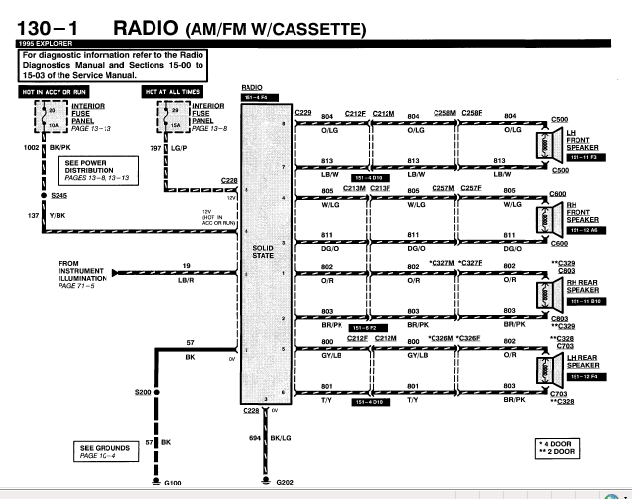 chevy factory radio wiring diagram image details