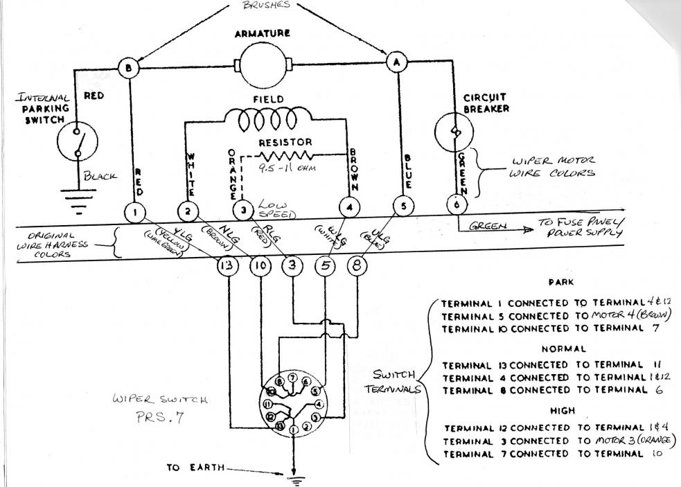 fuse box and wiring diagram - part 24 69 chevelle wiper motor wiring diagram