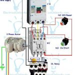 Contactor Wiring Guide For 3 Phase Motor With Circuit Breaker for 3 Phase Motor Wiring Diagram