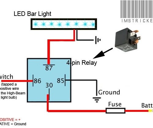 Cool Wiring Led Light Bar With Wiring Harness Diagram For Led throughout Light Bar Wiring Diagram