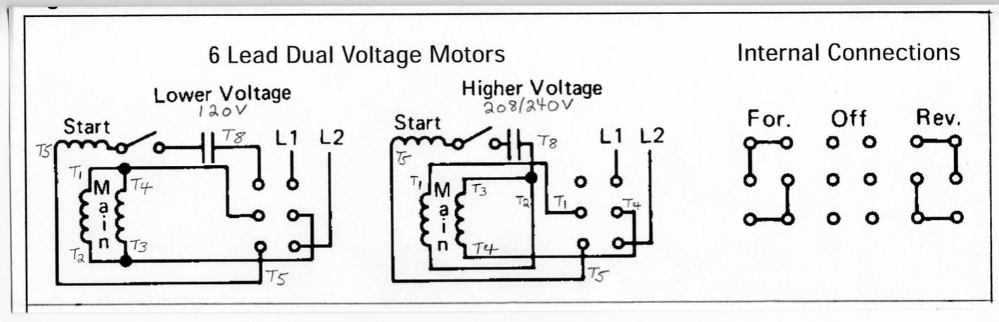Correct Wiring For 3 Wire Single Phase Motor – Electrical inside Electric Motor Wiring Diagram Single Phase