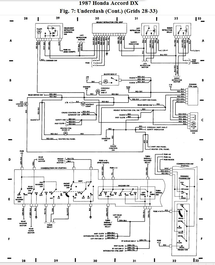 2001 Honda Accord Headlight Wiring Diagram | Fuse Box And ...