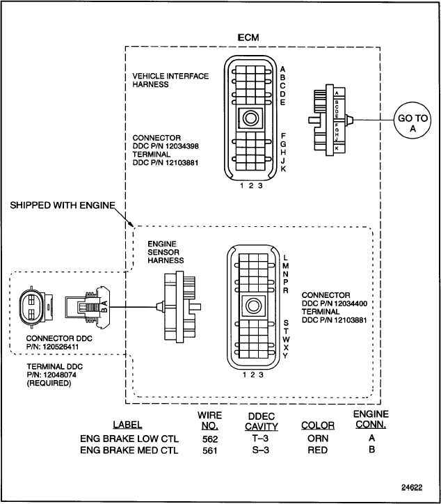 detroit series 60 ecm wiring diagram fuse box and wiring DDEC V ECM Vehicle Interface Harness N14 ECM Wiring Diagram