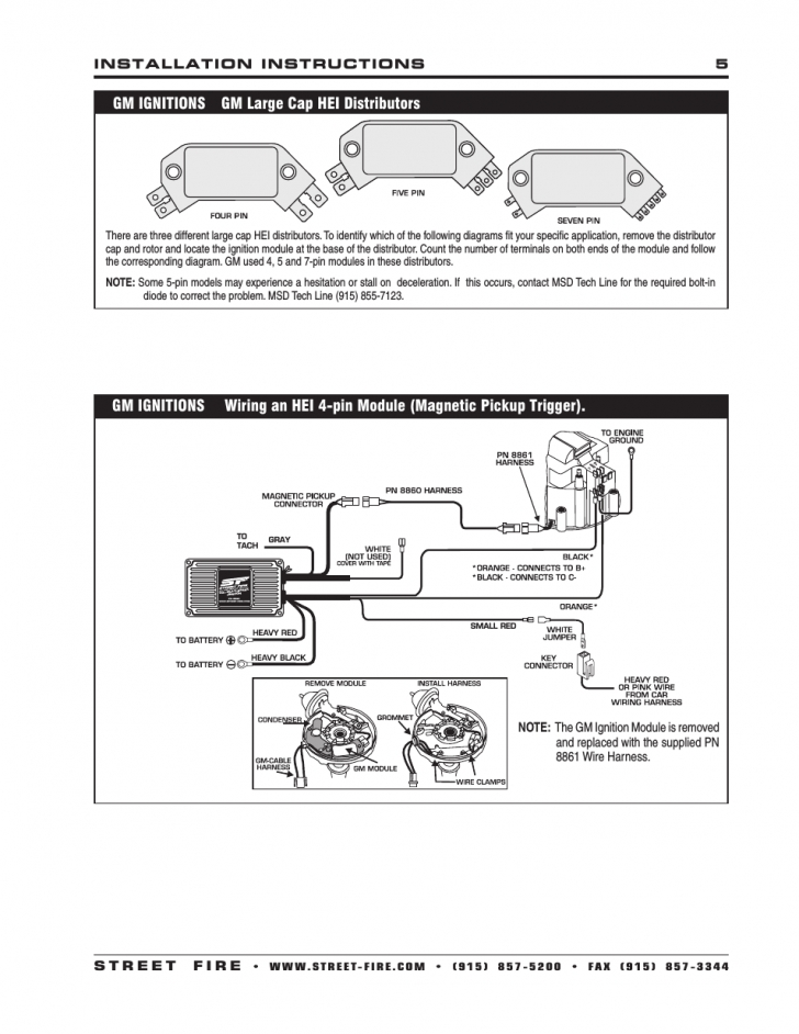 delco remy hei distributor wiring diagram fuse box and Delco Remy Alternator Wiring Diagram HEI Distributor Wiring Diagram