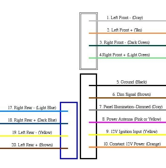 Delphi Radio Wiring Diagram Freightliner On Delphi Images. Free with Delphi Radio Wiring Diagram