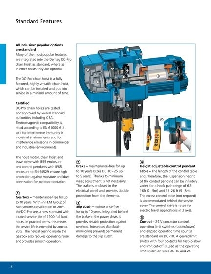 Demag Dc Pro Electric Chain Hoist - Hoist Experts - Electric with regard to Demag Hoist Wiring Diagram