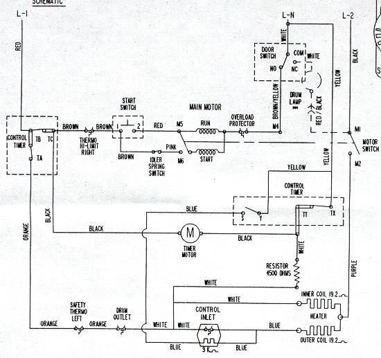 Diagram Dryer Electric Maytag Wiring | Blow Drying throughout Maytag Centennial Dryer Wiring Diagram
