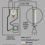 Dimmer Switch Wiring - Electrical 101 pertaining to Dimmer Switch Wiring Diagram