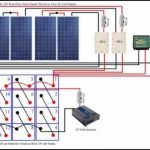 Diy Solar Panel System: Battery Bank Wiring - Youtube pertaining to 48V Battery Bank Wiring Diagram