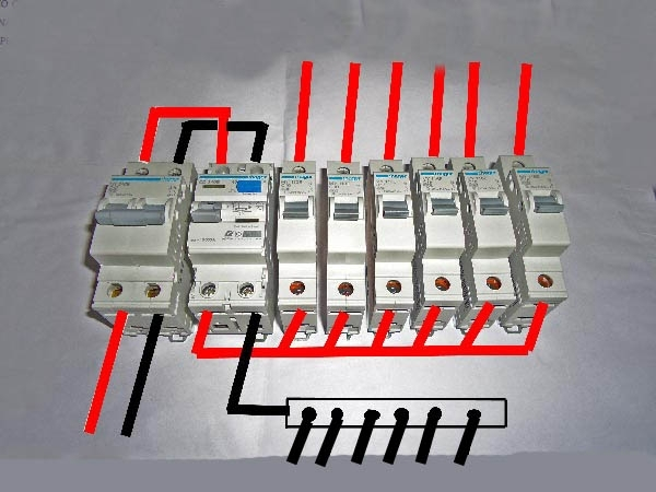 Diy Wiring A Consumer Unit And Installation - Distribution Board regarding House Distribution Board Wiring Diagram