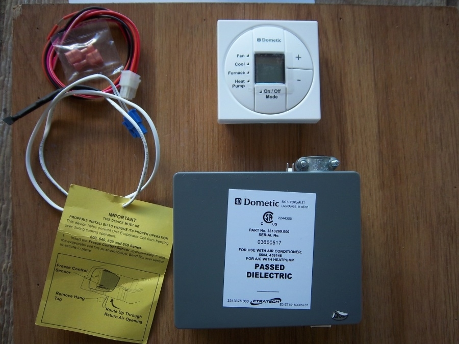 Dometic Digital Thermostats And Control Kits - Single Zone in Dometic Thermostat Wiring Diagram