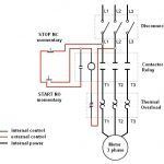 Dont Know How To Wire A Start/stop Switch To Motor - Electrical with 3 Wire Stop Start Wiring Diagram