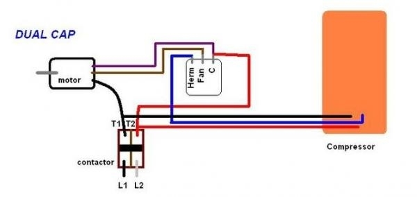 Dual Capacitor With Hard Start Wiring Schematic? – Readingrat with regard to Hard Start Capacitor Wiring Diagram