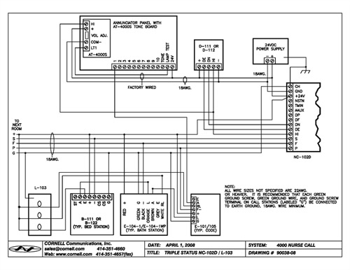 Dukane Nurse Call Wiring Diagram On Dukane. Wiring Diagram Schematics pertaining to Dukane Nurse Call Wiring Diagram