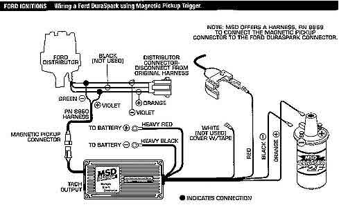 Duraspark Msd Distributor Wiring Diagram Msd2 Tech Easy Install with Msd Distributor Wiring Diagram